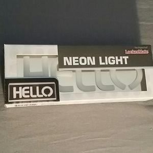 HELLO Neon Light by Lockermate